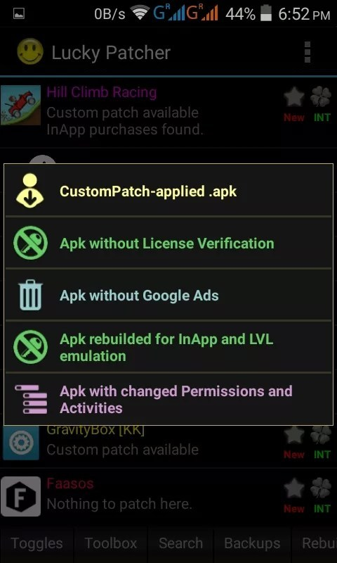 Click Apk rebuilded for InApp and LVL emulation